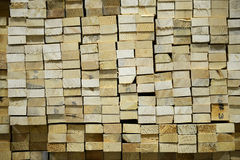 Timber Stacked Stock Images