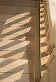 Timber stairs Stock Images