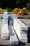 Timber storage Royalty Free Stock Images