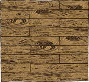 Timber texture. Vintage drawing. Brown Stock Images