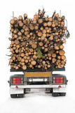 Timber truck Royalty Free Stock Image