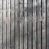 Timber vertical cladding Stock Image