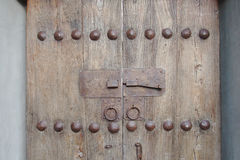 Timber vintage door Royalty Free Stock Photos