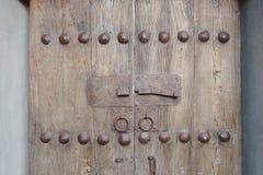 Timber vintage door Royalty Free Stock Photos