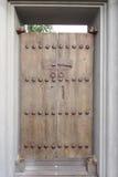 Timber vintage door Royalty Free Stock Photo