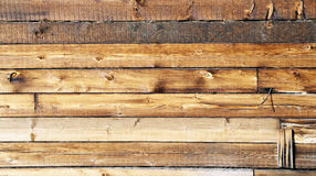 Timber wall Royalty Free Stock Image