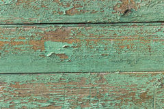 Timber wall house closeup background. Aqua timber house wall texture Royalty Free Stock Images