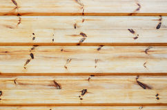 Timber wall Stock Image