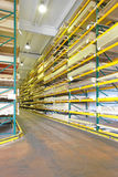 Timber Warehouse Royalty Free Stock Photography