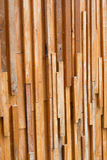 Timber wood brown stick used wall texture Royalty Free Stock Photography