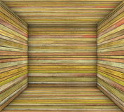 Timber wood orange plank square empty space Royalty Free Stock Photos