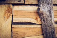 Timber wood pallet barn plank texture Royalty Free Stock Photos