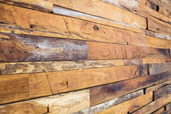 Timber wood wall Royalty Free Stock Images
