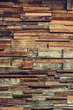 Timber wood wall texture background, dark wooden wall. Royalty Free Stock Images