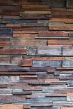 Timber wood wall texture background, dark wooden wall. Stock Image