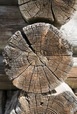 Timber work 3. Wooden timber work of old house 2 Royalty Free Stock Photos
