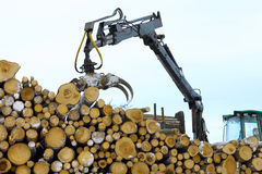 Timber work Royalty Free Stock Photography
