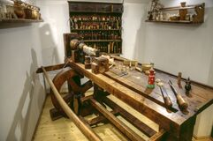Timber workshop ready for use