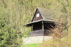 timbered коттедж Стоковая Фотография RF