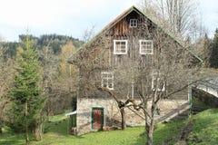 timbered коттедж Стоковое фото RF