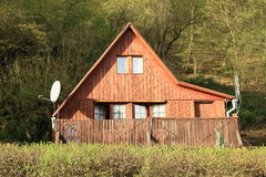 Timbered cottage Royalty Free Stock Photography
