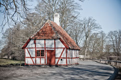 Timbered house Royalty Free Stock Photo