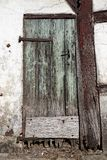Timbered house door in Lower Saxony, Germany Stock Photography