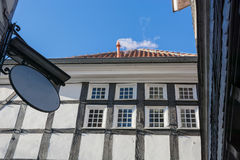 Timbered house in Hattingen Stock Images