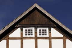 Timbered house in Lower Saxony, Germany Royalty Free Stock Photography