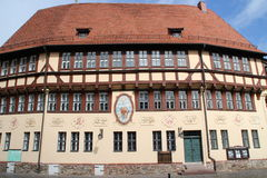 A timbered house. In Stolberg Stock Photography