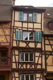 Timbered houses of Colmar Stock Image