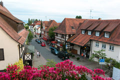 Timbered houses Royalty Free Stock Photos