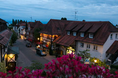 Timbered houses Royalty Free Stock Photography