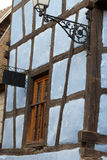 Timbered houses in the village of Eguisheim Royalty Free Stock Photos