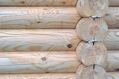Timbered wall Royalty Free Stock Images