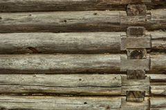 Timbered wall background Stock Photo