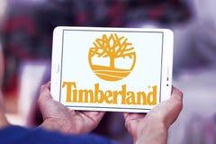 Timberland brand logo stock photos