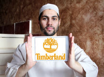 Timberland brand logo stock photo