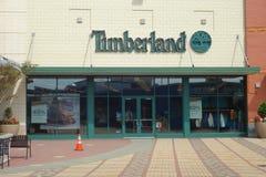 Timberland sklep Obraz Stock
