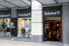Timberland store Stock Photography