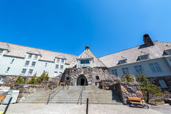 Timberline Lodge Entrance Royalty Free Stock Photos