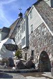 Timberline lodge on Mt. Hood Oregon. Royalty Free Stock Images