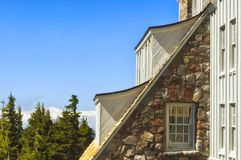 Timberline Lodge on Mt. Hood in Oregon Stock Photos