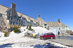 Timberline lodge Mt. Hood Oregon. Royalty Free Stock Photo