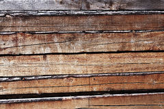 Timbers. A pile of timbers is stocked for construction Stock Images