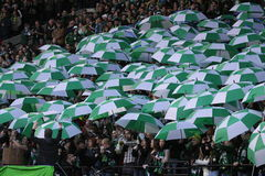 Timbers Army 2013 opener Stock Image