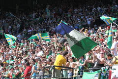 Timbers Army Stock Image