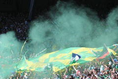 Timbers Army Royalty Free Stock Photography