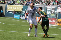 TIMBERS vs Galaxy Royalty Free Stock Photography