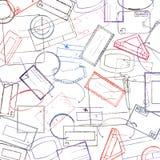 Timbra il colore del fondo Illustrazione di vettore royalty illustrazione gratis